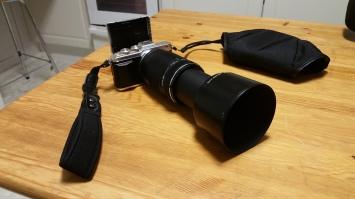 E-PL7 + 75-300mm TELE